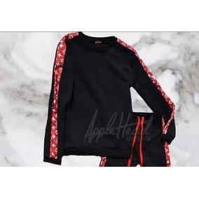 Buzo Estilo Supreme Louis Vuitton X Applehead