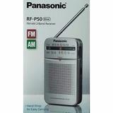 Radio Portatil Panasonic Am/fm Rf-p50