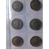 12 Monedas Argentina Niquel (5, 10 Y 20 Centavos)