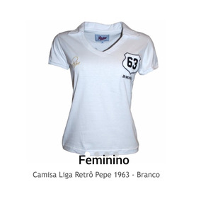 35c84b7e37 Camisa Santos Azul Feminina - Camisa Outras Masculinas no Mercado ...