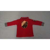 Franela Tipo Sweter Marca Zara Talla 12 A 24 Meses