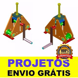 Projeto Calandra Manual Metalon, Ferro, Chato, Chapas