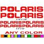 Pegatinas De Calcomanías De Polaris ** Cualquier Quad Moto