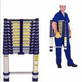 Escada Multifuncional Pratica Leve Alumínio Com 10 Degraus