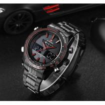 Relógio Masculino Naviforce 9024 Racer Esportivo 30m