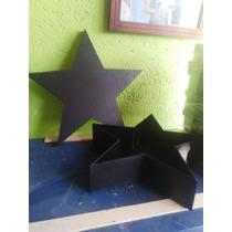 Caja En Forma De Estrella Para Floreria , Dulces , Regalos