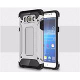 Case Protector Funda Armor Tech Plateado Samsung J7 2016