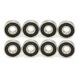 Rulemanes Para Spinner, Skate, Long, Rollers. 608. Set X 8 U