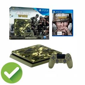 Playstation Consola Ps4 Slim 1tb. Edición Call Of Duty