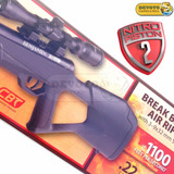 Rifle Benjamin Nitropistón 2 Crosman + Mira 3-9x32 + Balines