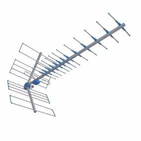 Antena Proeletronic Boca De Jacare Prohd 1100 + Mastro