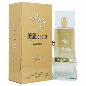Perfume Feminino Spirit Millionaire Lomani 100ml Edp