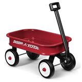 Carrito Rojo Transporta Juguetes Para Niños
