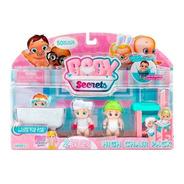 Set Baby Secrets Incluye 3 Baby Secrets Y Un Accesorio