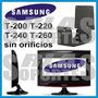 Soporte Monit Samsung T200 T220 T240 T260 Sin Orificios Vesa