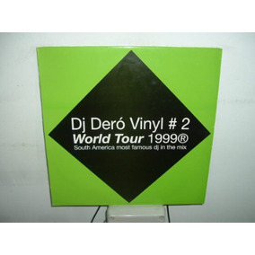 Dj Dero World Tour 99 Vinyl #2 Oid Mortales Maxi Vinilo Arg