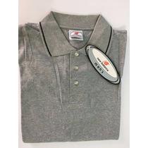 New Balance Camisa Tipo Polo De Hombre, Talla G. 100%algodon