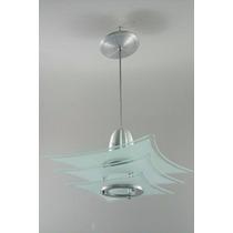 4 Lustre Vidro - P/ Quarto, Sala, Cozinha Ou Banheiro 355j