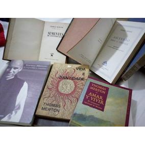 Thomas Merton - Lote Raro - 16 Livros