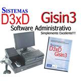 Software Administrativo Sistemas D3xd Original