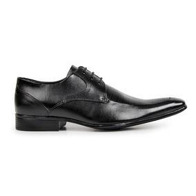 Sapato Social Com Cadarço Solado De Borracha 363 Liquidação