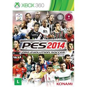 Jogo Pro Evolution Soccer 2014 Pes 14 Xbox 360 X360 Futebol