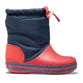 Crocs Originales Crocband Lodgepoint Boot K Azul Niños 485