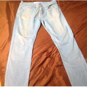 Pantalon/jeans Azul Hombre Marca Zara Talla Eur 42/usa 32