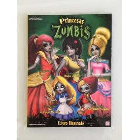 Princesas Zumbis, Album Completo C/ 144 Figurinhas P/ Colar