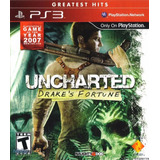 Uncharted: Drake S Fortune.-ps3 (greatest Hits)