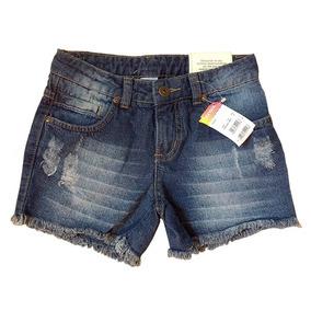 Short Jeans Infantil Menina Moderna Marisol