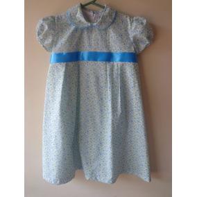 Vestido De Niña Con Listón Talla 8 Años