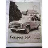 Fasciculo Coleccion Autos Clasicos 12 Peugeot 403
