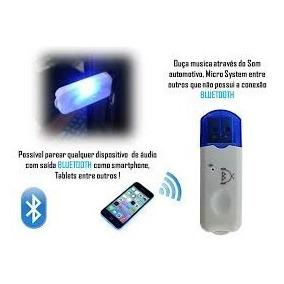 Adaptador Bluetooth Transmissor Recepto Usb Pendrive Chamada