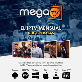 Android Megaplay 350 Canales Para Android Smart