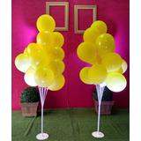 Suporte Balão Bexiga Bolas 2 Peças De 15 Balões Cada