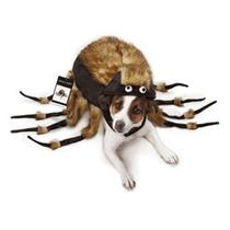Disfraz Para Perro Traje De Halloween Fuzzy Dog Tarántula,