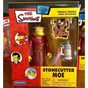 Moe Stonecutter Maggio Playmates Simpsons Cerrado U N I C O