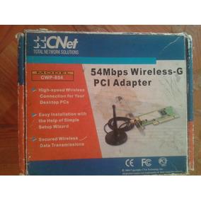 Tarjeta Inalambrica Cnet De Red Wifi Cwp-854