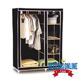 Closet Ropero Organizador Armable Grande 175x45x110cms / Ofc