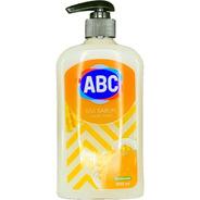 Jabón Líquido Abc Aroma Leche Y Miel 500ml Con Dispensador