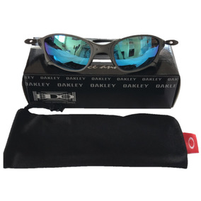 Óculos Oakley Juliet 24k Chrome Lente Ice Plasma Polarizado De Sol ... 1382e3b2d9