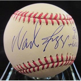 Wade Boggs Signed Baseball - 96 Ws Horse Ride Ml - Psa / Dna