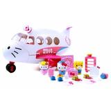Hello Kitty Accesorios De Juego Avión Para Niñas 20 Piezas