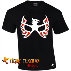 Playera Lucha Libre Aguila Solitaria By Tigre Texano Designs