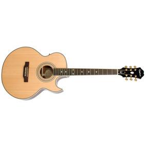 Guitarra Electro Acústica Epiphone Pr5-e Natural