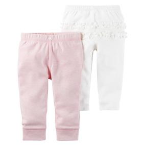 Carters Pack De 2 Pantalones De Nena
