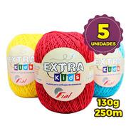 Fio Fial Extra Kids Amigurumi 130g - Kit 5 Unidades
