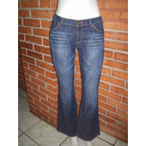 Calça Jeans Flare Marca Famosa Tamanho M