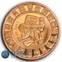 Nueva !! Medalla Cobre Calendario Maya 1 Onza !!!